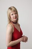 Het volwassen Portret van de Vrouw stock foto