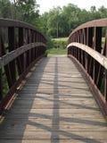 Het vooraanzicht van de brug Stock Afbeeldingen