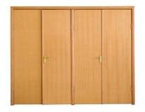 Het vooraanzicht van deuren Stock Fotografie
