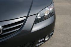 Het vooraanzicht van Mazda stock foto