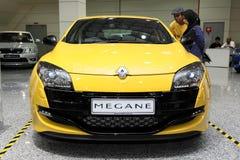Het vooraanzicht van Renault Megane RS Royalty-vrije Stock Foto's