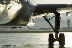 Het vooraanzicht van vliegtuigen Royalty-vrije Stock Fotografie