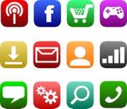 Het Voorbeeld van het Appspictogram Stock Foto