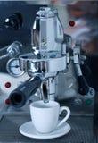 Het voorbereiden van koffie Royalty-vrije Stock Afbeelding