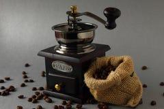 Het voorbereiden van koffie royalty-vrije stock foto