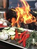 Het voorbereiden van voedsel Royalty-vrije Stock Fotografie