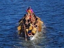 Het voorbereidingen treffen voor 2016 Dragon Boat Festival Stock Afbeelding