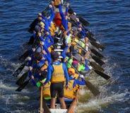 Het voorbereidingen treffen voor 2016 Dragon Boat Festival Royalty-vrije Stock Afbeeldingen