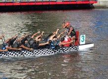Het voorbereidingen treffen voor 2016 Dragon Boat Festival Stock Foto
