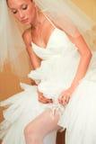 Het voorbereidingen treffen voor huwelijk Stock Foto