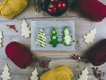 Het voorbereidingen treffen voor Kerstmis royalty-vrije stock afbeelding