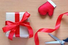 Het voorbereidingen treffen voor Kerstmisvakantie stock fotografie