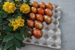 Het voorbereidingen treffen voor Pasen stock fotografie