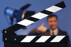 Het voorbereidingen treffen voor video vangt en fotospruit Stock Afbeelding
