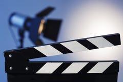 Het voorbereidingen treffen voor video vangt en fotospruit Royalty-vrije Stock Afbeeldingen
