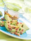 Het voorgerecht van de avocado stock foto