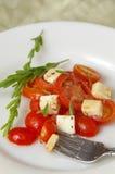 Het Voorgerecht van de tomaat royalty-vrije stock foto