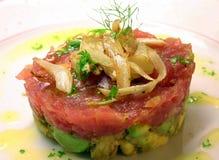 Het voorgerecht van de tonijn Royalty-vrije Stock Afbeelding