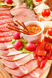 Het voorgerecht van het vlees royalty-vrije stock foto