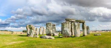 Het voorhistorische monument van Stonehenge Stock Fotografie