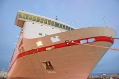 Het voorste gedeelte van het schip Stock Afbeeldingen