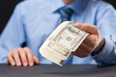 Het voorstel van het geld Royalty-vrije Stock Fotografie