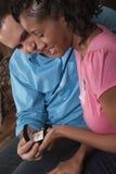 Het voorstel van het huwelijk Stock Foto's