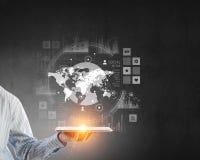 Het voorstellen van media technologieën Stock Afbeelding