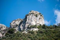 Het voortbouwen op de rots Stock Afbeelding