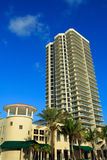 Het voortbouwen op het Strand van Miami Royalty-vrije Stock Foto