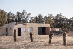 Het voortbouwen op woestijn Stock Foto's