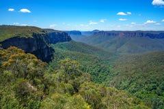 Het vooruitzicht van de Govettssprong, blauw bergen nationaal park, Australië 4 royalty-vrije stock fotografie