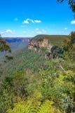 Het vooruitzicht van de Govettssprong, blauw bergen nationaal park, Australië 9 royalty-vrije stock afbeeldingen