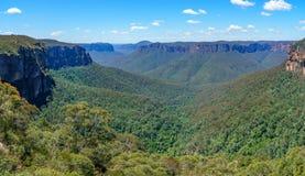 Het vooruitzicht van de Govettssprong, blauw bergen nationaal park, Australië 7 royalty-vrije stock fotografie