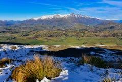 Het Vooruitzicht van de kapiteinsweg, die een overweldigende mening van het omringen van bergketen aanbieden royalty-vrije stock fotografie