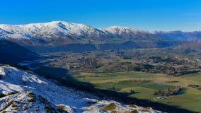 Het Vooruitzicht van de kapiteinsweg, die een overweldigende mening van het omringen van bergketen aanbieden royalty-vrije stock foto