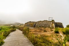Het Vooruitzicht - Viana do Castelo - Portugal royalty-vrije stock afbeelding
