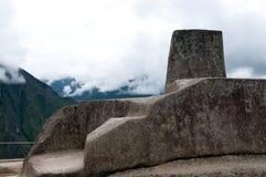 Het voorwerp van de astronomie in Machu Picchu Stock Foto
