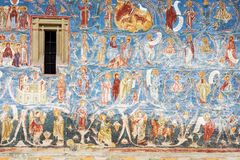 Het Voronet-Klooster, Bucovina, Roemenië Royalty-vrije Stock Fotografie