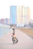 Het vouwen van fiets Strida Stock Afbeelding
