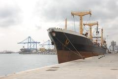 Het vrachtschip van de container Royalty-vrije Stock Foto