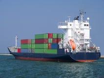 Het Vrachtschip van de container royalty-vrije stock foto's