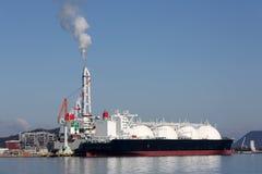 Het vrachtschip van LPG royalty-vrije stock foto