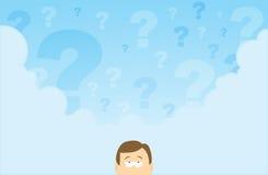 Het vragen van Mening Royalty-vrije Stock Afbeeldingen