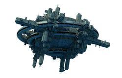Het vreemde schip van het UFO Royalty-vrije Stock Afbeeldingen