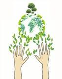 Het Vriendschappelijke Concept van Eco Stock Afbeelding