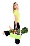 Het vriendschappelijke winkelen van Eco Royalty-vrije Stock Fotografie
