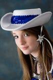 Het vrij jonge meisje van de tienerleeftijd stock afbeelding