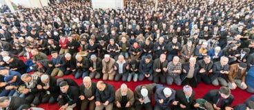 Het vrijdaggebed is een gebed één keer in de week gepresteerd door Moslims Stock Foto's