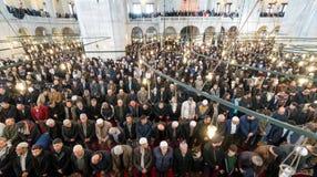 Het vrijdaggebed is een gebed één keer in de week gepresteerd door Moslims Royalty-vrije Stock Fotografie